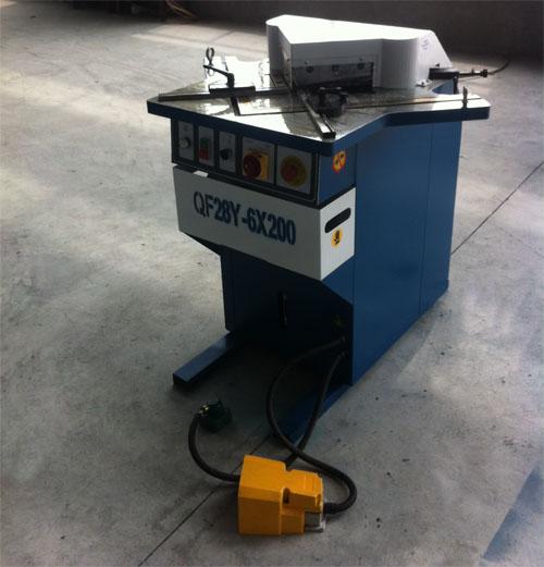 固定式液压切角机