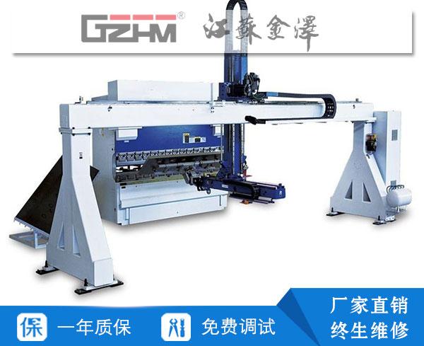 WE67K自动化数控折弯机生产线